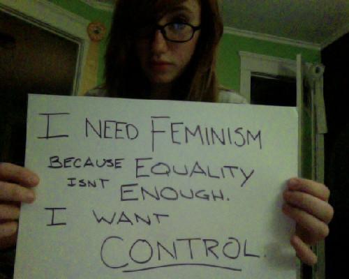 I Want Control