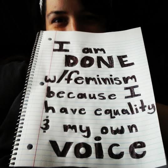 I Have Equality & My Own Voice
